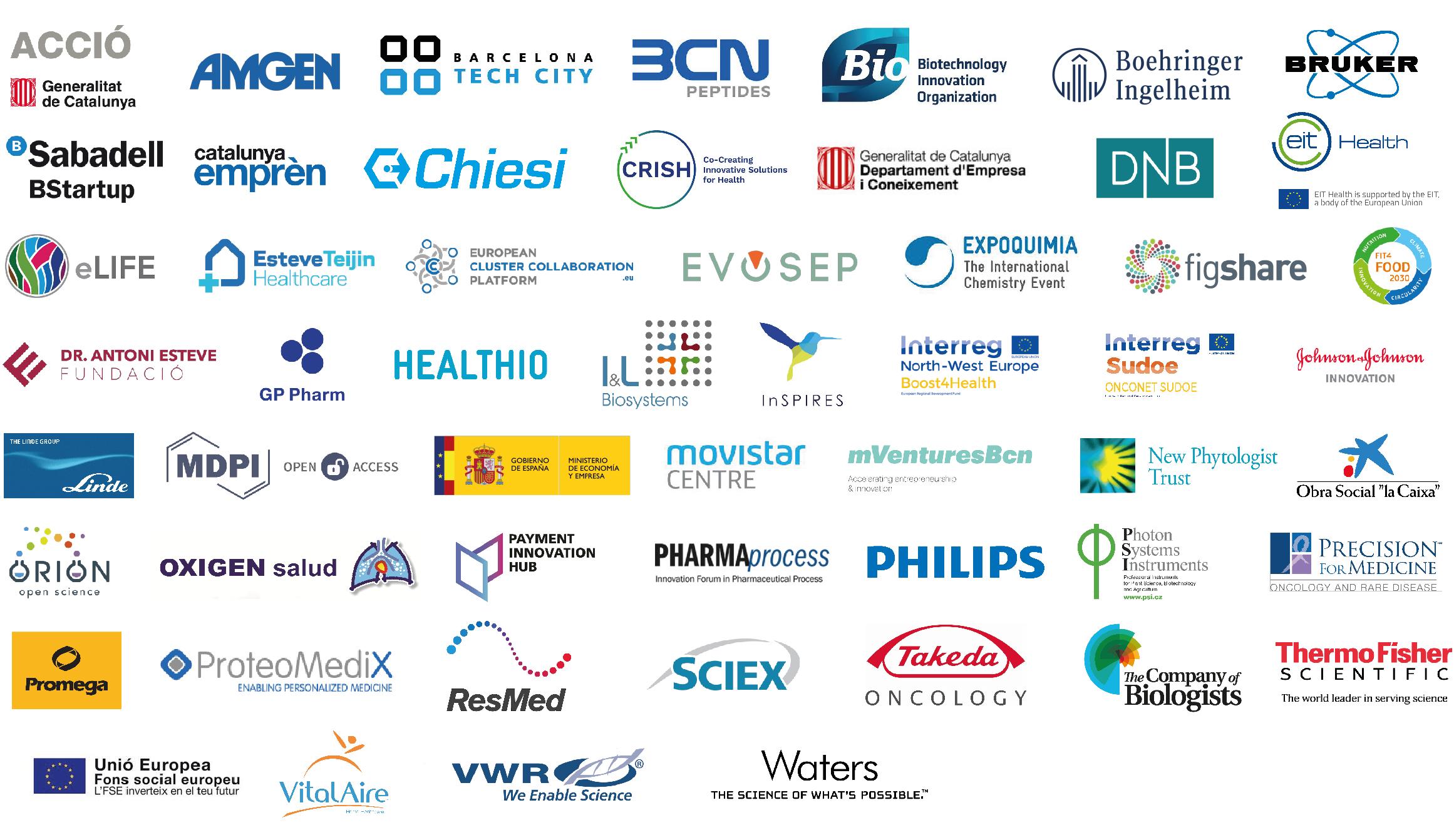 Patrocinadors Biocat 2018